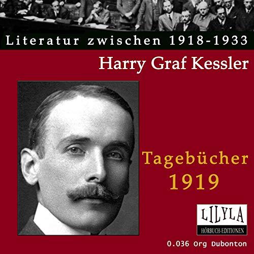 Tagebücher 1919 Titelbild