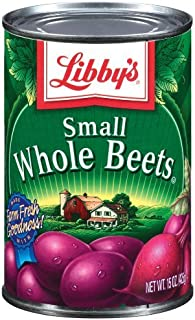 Libby's Small Whole Beets 15oz Can (Pack of 6)