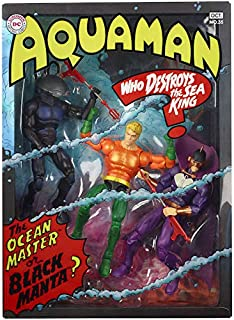 DC Multiverse Aquaman Between Two Dooms 2018 San Diego Comic Con ( SDCC ) Exclusive Mattel Universe Action Figure 3 Pack