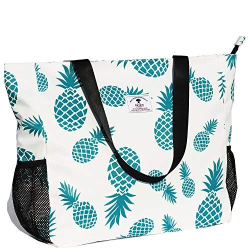 Große Strandtasche, wasserabweisend, leicht, 50,8 cm, für Damen, Übergröße,...