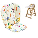 Twoworld Baby High Chair Seat Cushion Liner Mat Pad Cover Animal Breathable(Giraffe)