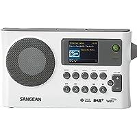 Sangean WFR28CW WFR-28 C - Radio Internet con DAB+, Blanco