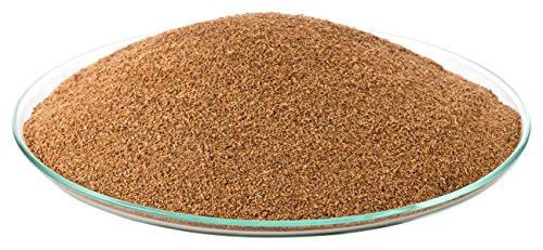 Kork-Deko 1 litro Corcho pulverizado, (Polvo de Corcho) (sustrato de Corcho, Corcho triturado)