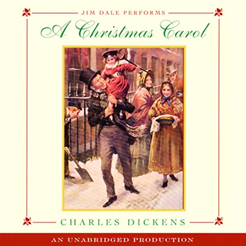 A Christmas Carol (Listening Library Edition) audiobook cover art