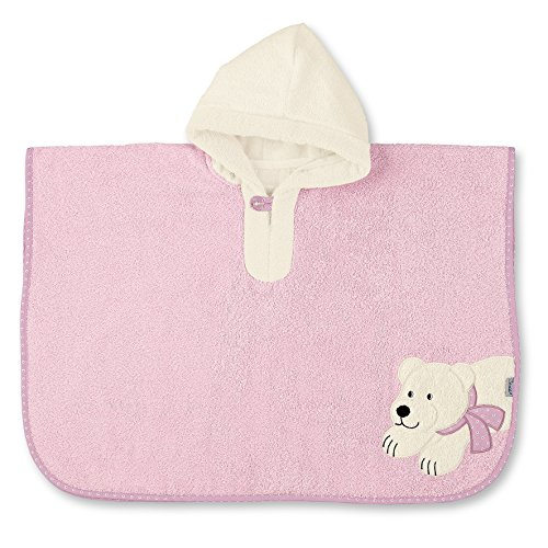 STERNTALER Poncho Ella l'Ours Polaire Rose