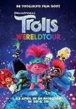 Trolls World Tour – Niederländisch Film Poster Plakat