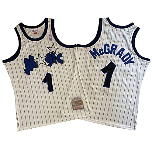 ZRBP # 1 Magic McGrady Uniformes De Baloncesto para Hombres, Uniformes De Equipos, Camisetas Deportivas, Chalecos, Camisetas Sin Mangas, Letras Y Números Personalizados S L