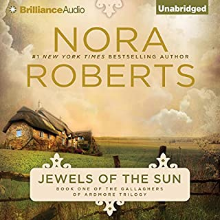 Jewels of the Sun     Irish Jewels Trilogy, Book 1              Auteur(s):                                                                                                                                 Nora Roberts                               Narrateur(s):                                                                                                                                 Patricia Daniels                      Durée: 10 h et 25 min     18 évaluations     Au global 4,2