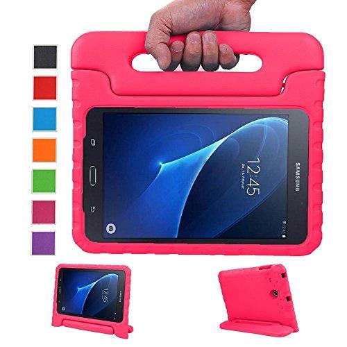 LEADSTAR Kinds Funda para Samsung Galaxy Tab A 7.0 caso niños EVA destinado a prueba de golpes cubierta estuche protector caso para Samsung Tab A SM-T280 T285 7.0 Pulgadas - Rosa