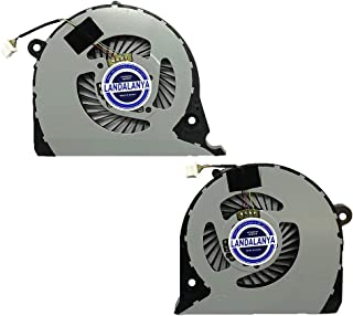 Landalanya Replacement New CPU+GPU Cooling Fan for Dell Inspiron 15 7577 7588 G5 15 5587 G7-7588 G7-7577 Vostro 15-7580 75...