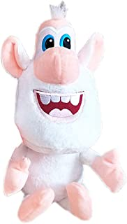 LuLezon Booba Buba White Pig Cooper Plush Figure Toys Soft Stuffed Doll 25 cm
