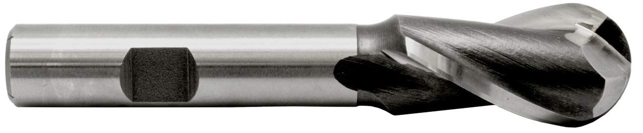 Ball Nose High Speed End Mill 1-3 Length Bombing new work Rapid rise 8 Cut 1-5 Dia 4-1 8