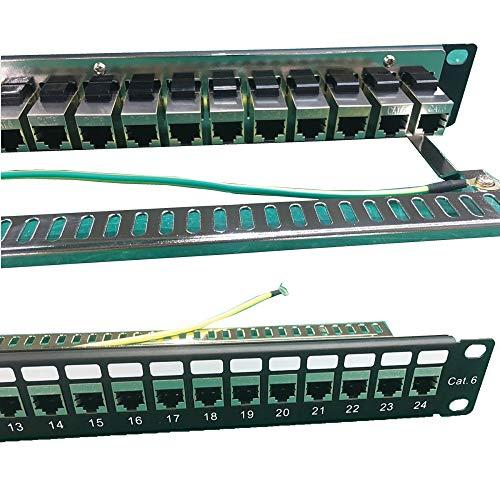 Platinum Connector - CAT6 FTP 24port (Loaded) Coupler Patch Panel 1U...