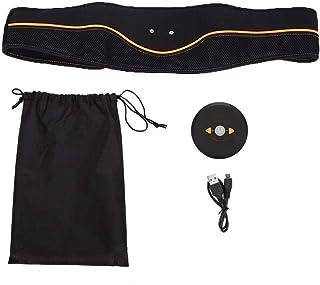 Dekaim Cinturón de Entrenamiento Muscular, Inteligente hogar EMS Entrenador Muscular Abdominal Cinturón de Masaje Adelgazante Corporal