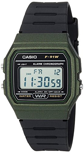 [カシオ]腕時計 F91WM-3A チープカシオ ユニセックス (カーキ) [並行輸入品]