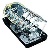 LUCKFY Modo DE Motor DE Motor DE Tipo V-Tipo V DIY 5V Pequeño Motor de Alta Velocidad Juguetes Enseñanza Gran Regalo para su Novio o Novia, Padres, niños