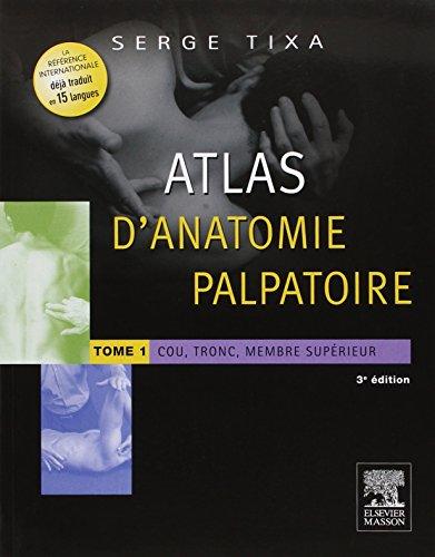 Atlas d'anatomie palpatoire. Pack 2 tomes