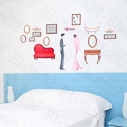 Marry Me – Patchs Rouge Stickers muraux Stickers Home Decor