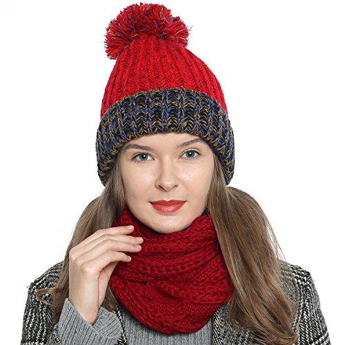 Dames winter ronde sjaal ronde sjaal loop warm en zacht gebreid