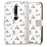 DeinDesign Étui Compatible avec Nokia 6.1 Étui Folio Étui magnétique Winnie l'ourson Disney...