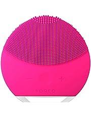 FOREO LUNA mini 2 Spazzola detergente viso per la skincare professionale da fare in casa, Fuchsia
