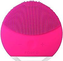FOREO LUNA mini 2 Facial Cleansing Brush for Spa Skincare at Home, Fuchsia