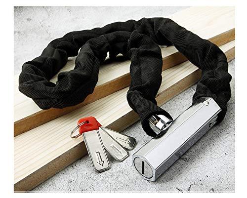 Magnetic Card Password Lock, Hydraulische Shear Chain Lock, Fiets Elektrische Fietsslot, Anti-Diefstal IJzeren Kettingslot, Verlengd 1.2 Meters