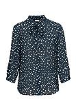 Seidensticker Fashion Bluse 3/4, Azul, 38 para Mujer