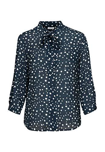 Seidensticker Damen Fashion 3/4 Bluse, Blau (19), 42