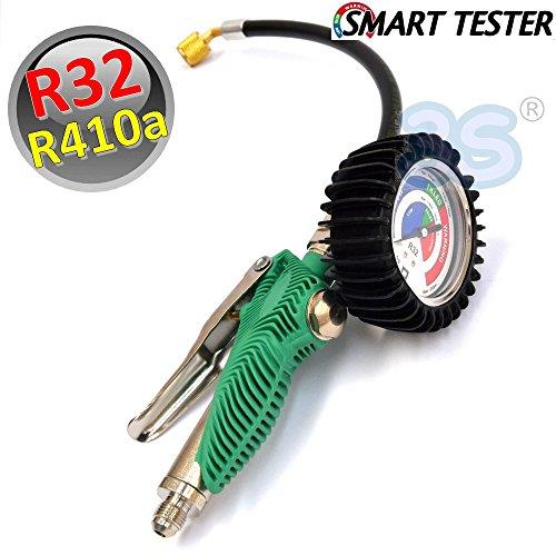 SMART TESTER POUR SYSTEMES AVEC R410a R32 Manomètre Frigoriste PRO clim