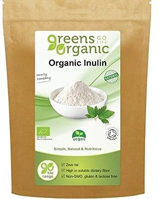 Greens Organic- Organic Inulin - Vegan 250g (Pack of 3)