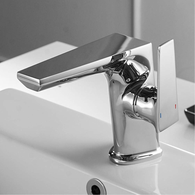 LLLYZZ Basin Faucet Retro Black Faucet Taps Bathroom Sink Faucet Single Handle Hole Deck Vintage Wash Hot Cold Mixer