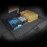 Car Rear Elastic Cargo Mesh Organizer Nylon Trunk Net Fit For Subaru Forester