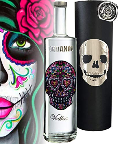 Iordanov Vodka Edition LOVE-Skull (1 x 0,7 l)