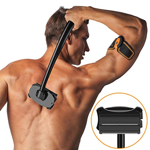 SHINCO Back Shaver [Upgrade 2.0], Body Shaver Back Razor for Men, Back Hair