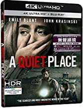 A Quiet Place (4K UHD + Blu-Ray) (Hong Kong Version / Chinese subtitled) 無聲絕境