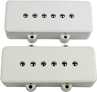 Guyker Bass Pickup Set for Jazzmaster Guitar Replacement Parts