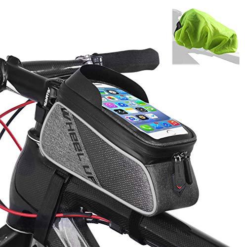 Borsa Cesto portaoggetti per MTB da manubrio della bicicletta per il manubrio della bicicletta 3L acqua Fest