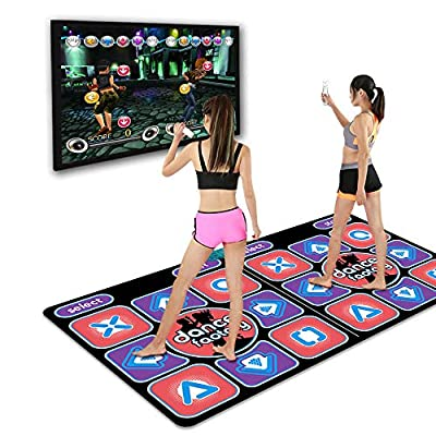 HEPHEASTUSOR Family Entertainment Dance Mat, Wireless High-Definition Connection for All TV Dance Mats, Thick Yoga Mat Somatosensory Game Mat by China