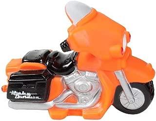 HARLEY-DAVIDSON Motorcycle Squeaker Pet Toy 4.5 Inch Vinyl Orange H8200-H-V08DOG