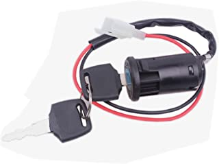Wingsmoto Ignition Key Switch Lock 2 Wire Electrical Scooter 2 Position