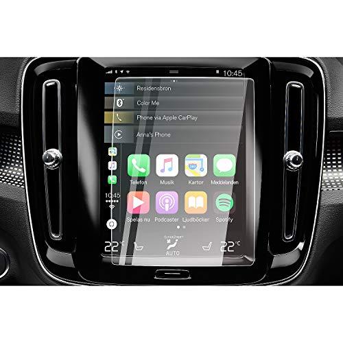 CDEFG für Volvo XC40 XC90 XC60 Navigation Glas Schutzfolie 9H Kratzfest Anti-Fingerprint Auto GPS Transparent Displayschutzfolie