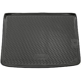 Novline MAT207 Custom Tailored Fit Black Rubber Boot Liner Mat (WITH Raised Boot Floor):Maxmartyn