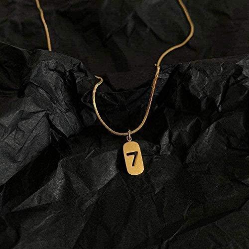 Liuqingzhou Co.,ltd Collar Collar Collar de Mujer Cadena de clavícula doblada Cadena de Hueso de Serpiente Collar Cadena Colgante para Mujeres y Hombres