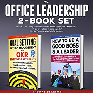The Office Leadership 2-Book Set audiobook cover art