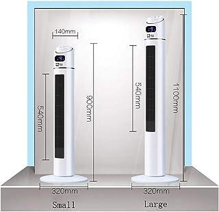 HZQ Torre de ventiladores para aplicaciones en múltiples escenarios, 40W 50Hz 3 velocidades, sin hojas, piso sin techo, aterrizaje