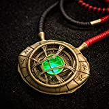 Marvel Comics Doctor Strange Eye of Agamotto 1:1 Scale Light-Up Prop Replica Necklace | Officially Licensed Avengers Infinity Saga Movie-Authentic Collectible