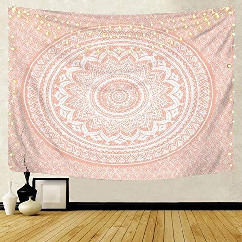 Tapiz de mandala grande para colgar en la pared, toalla de playa bohemia de poliéster, manta fina para yoga, chal de viaje