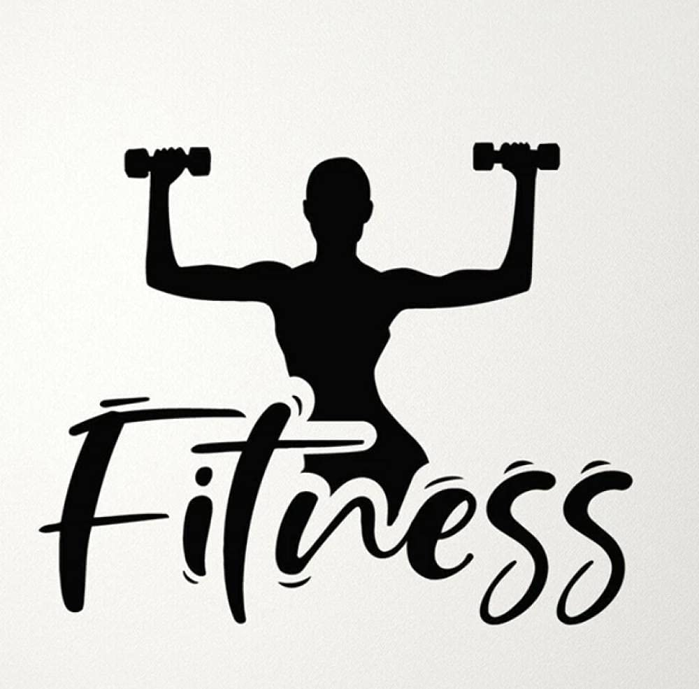 Wall Stickers Mural Fitness Vinyl 55% OFF Decal Girl G Home Online limited product