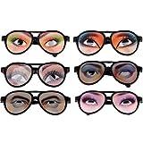 Toyvian Lustige Brille mit Augen Partybrille Spaßbrille Foto Requisiten Scherzartikel für Kinder...